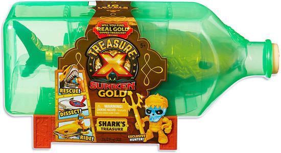 Treasure X Series 5 Sunken Gold Shark's Treasure Playset