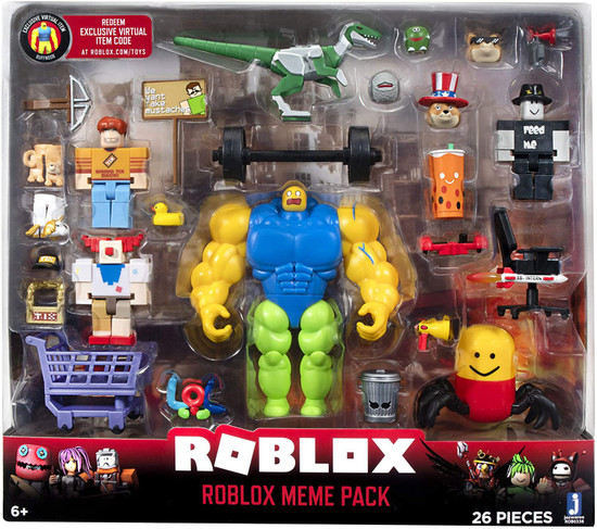 Roblox Action Collection Meme Pack Playset