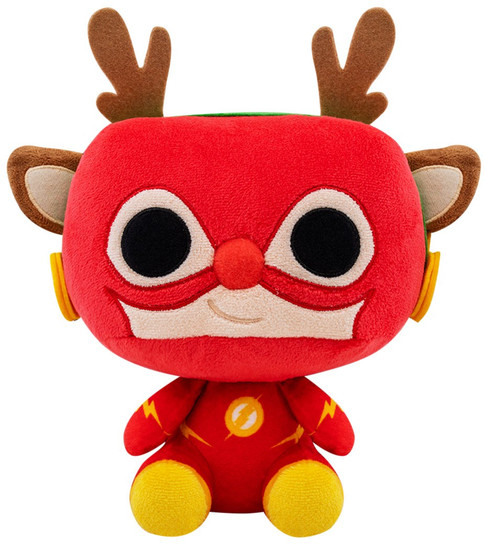 Funko DC Holiday Rudolph Flash Plush