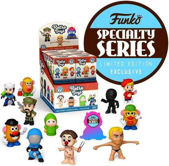 Funko Hasbro Mystery Minis Retro Toys Exclusive Mystery Box [12 Packs, Specialty Series]