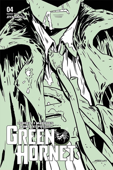 Dynamite Entertainment Green Hornet (Dynamite), Vol. 4 #4 Comic Book [Cover B Marques]
