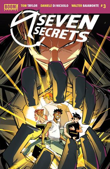 Boom! Studios Seven Secrets #3 Comic Book