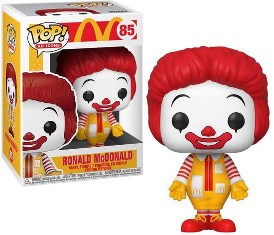 Funko McDonald's POP! Ad Icons Ronald McDonald Vinyl Figure #85