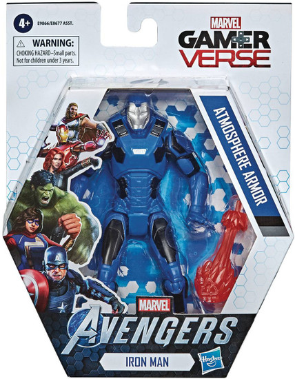 Marvel Avengers Gamerverse Iron Man Action Figure [Atmosphere Armor]