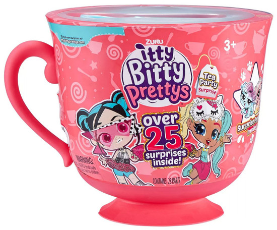 Itty Bitty Prettys Series 1 Tea Party Surprise Rocker & Unicorn Teacup Playset [BLUE Top!]