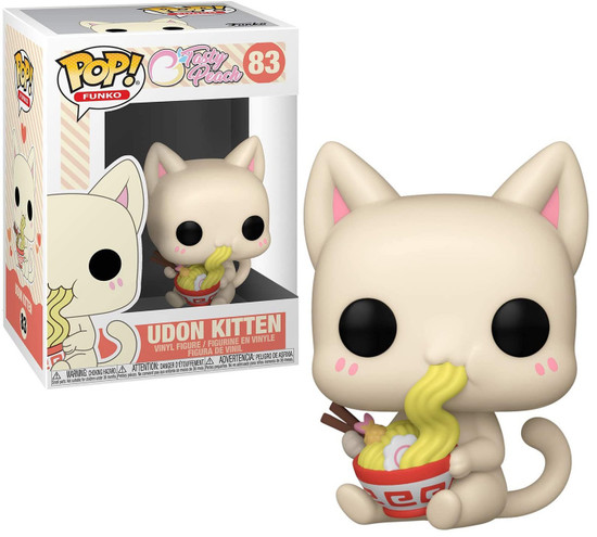 Funko Tasty Peach POP! Udon Kitten Vinyl Figure #83