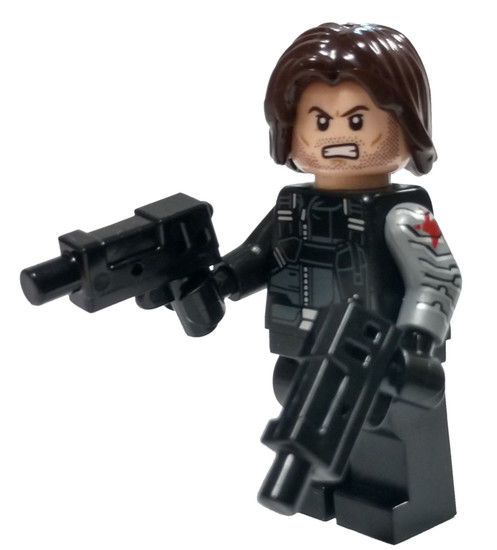 LEGO Marvel Super Heroes Captain America: Civil War Winter Soldier Minifigure [Loose]
