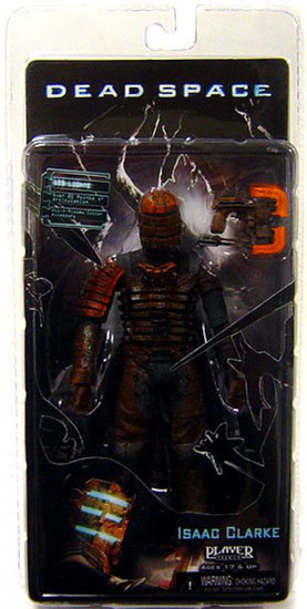 NECA Dead Space Isaac Action Figure [Standard with Plasma Cutter, Damaged Package]