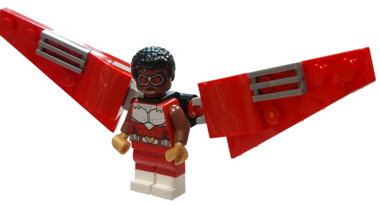 LEGO Marvel Super Heroes Avengers Falcon Minfigure [Red Wings Loose]