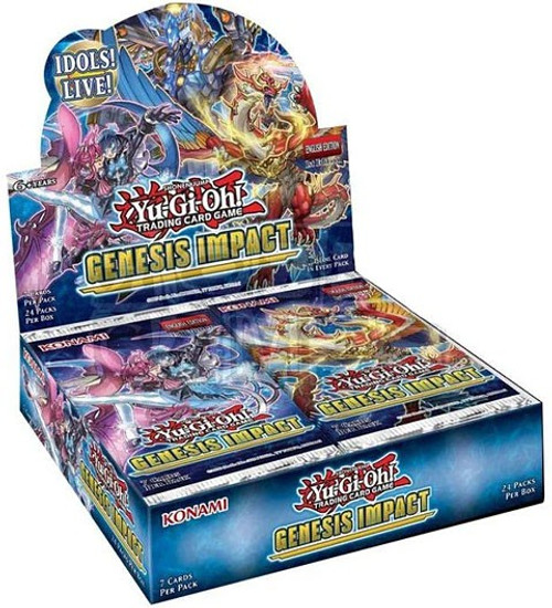 YuGiOh Trading Card Game Genesis Impact Booster Box [24 Packs]