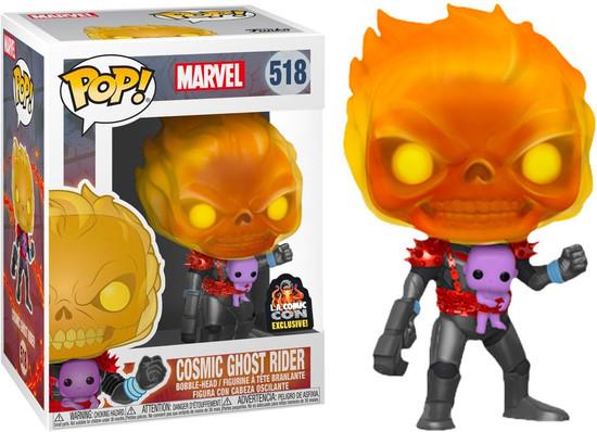 Funko POP! Marvel Cosmic Ghost Rider Exclusive Vinyl Bobble Head #518 [Damaged Package]