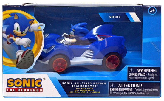 Sonic The Hedgehog All Stars Racing Transformed Pullback Racers Sonic Vehicle