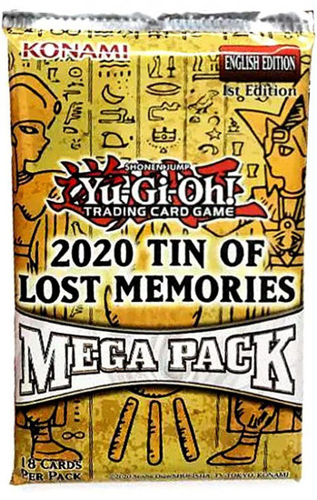 YuGiOh 2020 Tin of the Lost Memories Booster Mega Pack [18 Cards!]