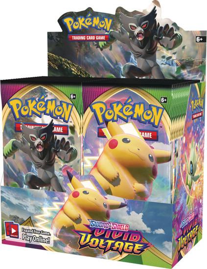 Pokemon Trading Card Game Sword & Shield Vivid Voltage Booster Box [36 Packs]