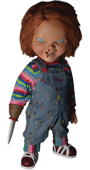 Child's Play 2 Chucky Mega Scale TALKING Action Figure [Menacing] (Pre-Order ships May)