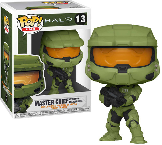 Funko Halo Infinite POP! Games Master Chief with MA40 Assault Rifle Vinyl Figure #13