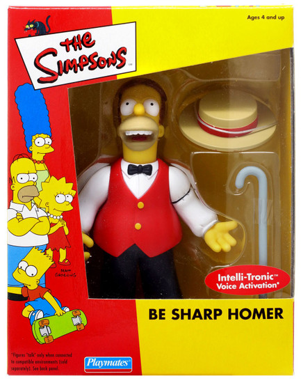 The Simpsons Homer Simpson Exclusive Action Figure [Be Sharp]