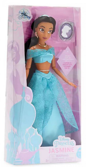 Disney Princess Aladdin Classic Princess Jasmine Exclusive 11.5-Inch Doll [with Pendant]
