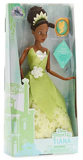 Disney Princess The Princess & The Frog Classic Princess Tiana Exclusive 11.5-Inch Doll [with Pendant]