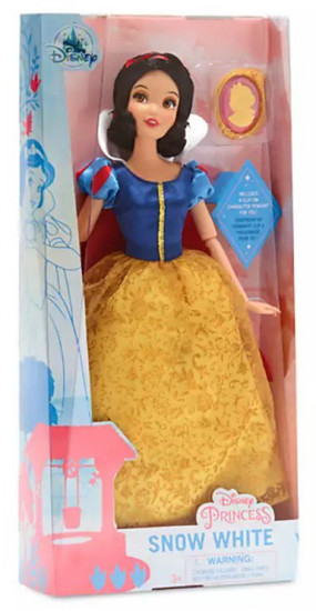 Disney Princess Classic Snow White 11.5-Inch Doll [with Pendant]