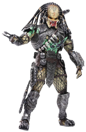 AVP Alien vs. Predator Scar Predator Exclusive Action Figure [Battle Damage] (Pre-Order ships July)