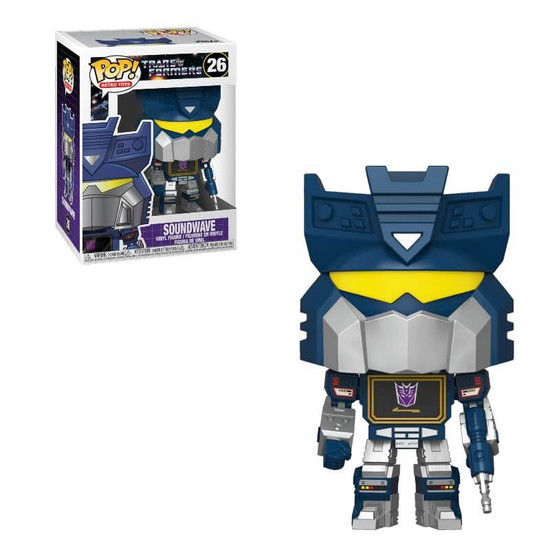 Funko Transformers POP! Retro Toys Soundwave Vinyl Figure #26