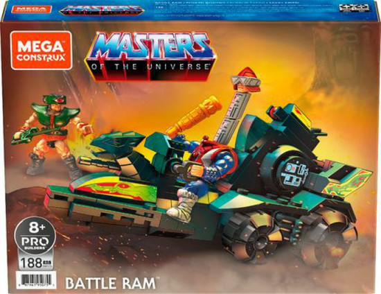 Mega Construx Masters of the Universe Battle Ram Set [Includes Tri-Klops & Mekaneck!]