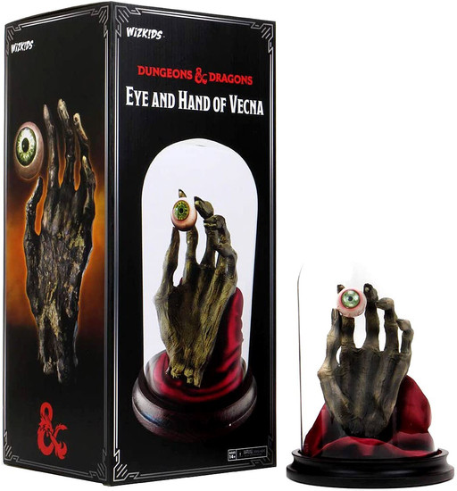 NECA Dungeons & Dragons Eye & Hand Vecna 10.5 Plaque (Pre-Order ships January)