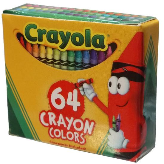 5 Surprise Mini Brands! Crayola 64 Crayon Colors 1-Inch Miniature [Loose]