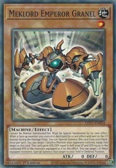 YuGiOh Legendary Duelists: Rage of Ra Common Meklord Emperor Granel LED7-EN024