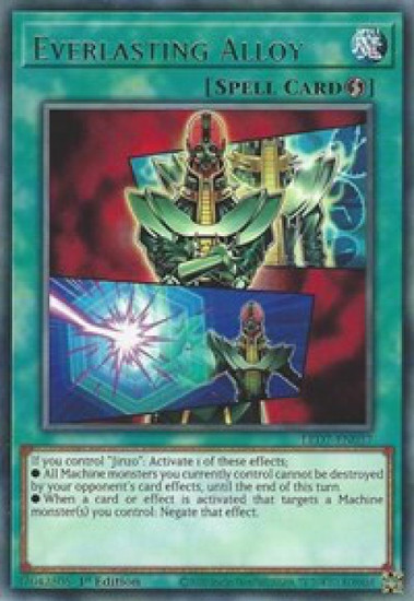 YuGiOh Legendary Duelists: Rage of Ra Rare Everlasting Alloy LED7-EN037