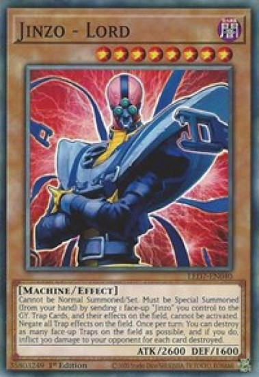YuGiOh Legendary Duelists: Rage of Ra Common Jinzo - Lord LED7-EN040