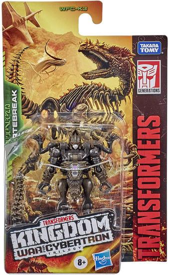 Transformers Generations Kingdom: War for Cybertron Trilogy Vertebreak Core Action Figure