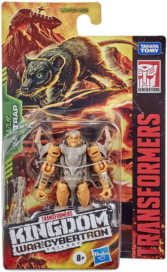 Transformers Generations Kingdom: War for Cybertron Trilogy Rattrap Core Action Figure
