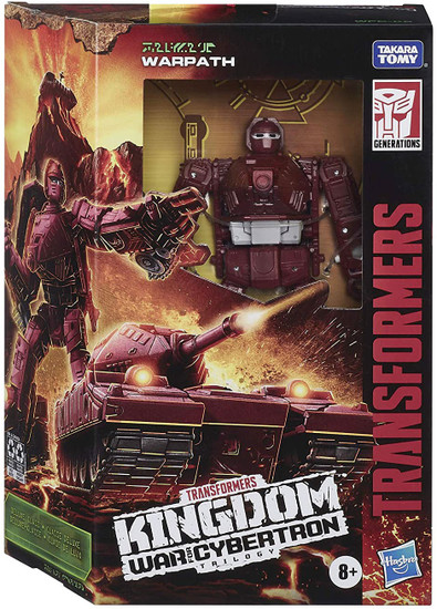 Transformers Generations Kingdom: War for Cybertron Trilogy Warpath Deluxe Action Figure WFC-K6