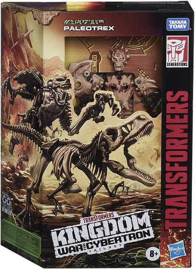 Transformers Generations Kingdom: War for Cybertron Trilogy Paleotrex Deluxe Action Figure WFC-K7
