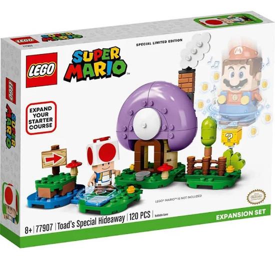 Lego Toad's Special Hideaway Super Mario Expansion LE 77907