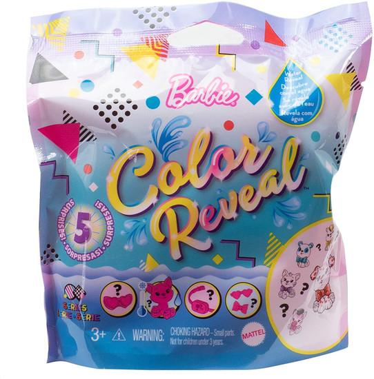 Barbie Color Reveal Mix N Match Series Pets Surprise Doll