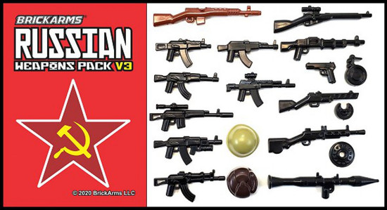 BrickArms Russian Pack v3 Weapons Pack