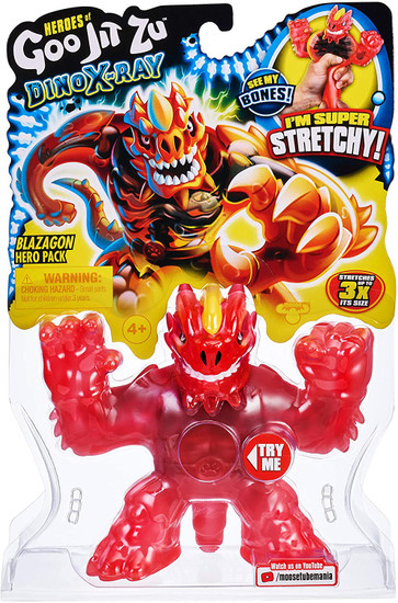 Heroes of Goo Jit Zu Dino X-Ray (Series 4) Blazagon the Dragon Action Figure