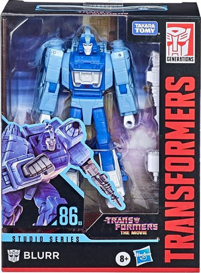 Transformers Generations Studio Series 86 Blurr Deluxe Action Figure (Pre-Order ships February)