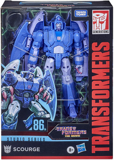 Transformers Generations Studio Series 86 Scourge Voyager Action Figure