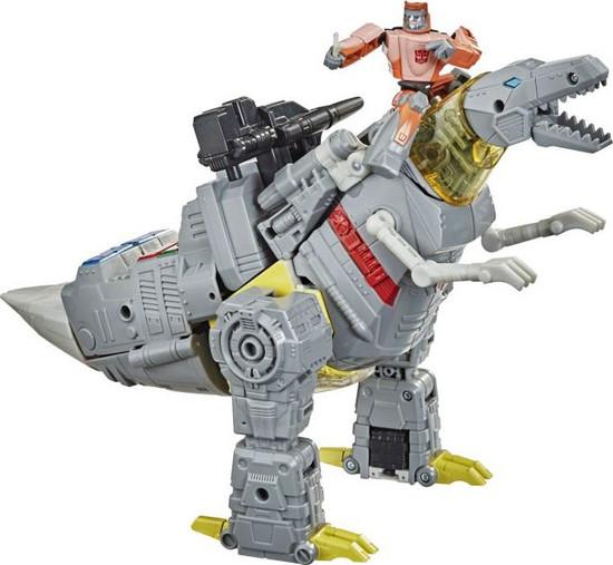 Transformers Generations Studio Series 86-06 Grimlock & Wheelie Leader Action Figure (Pre-Order ships March)