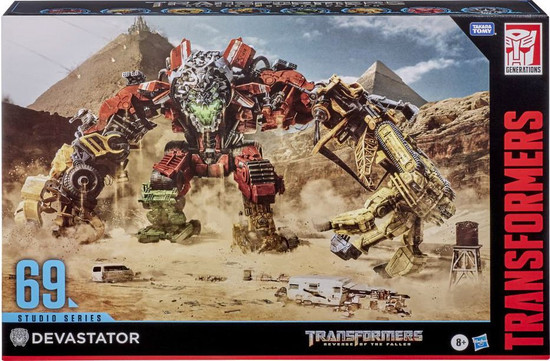 Transformers Generations Studio Series Devastator Action Figure 8-Pack #69 (Pre-Order ships January)