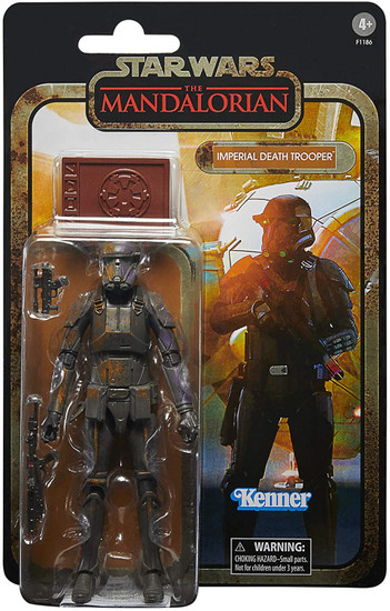 Star Wars The Mandalorian Black Series Credit Collection Imperial Death Trooper Exclusive Action Figure