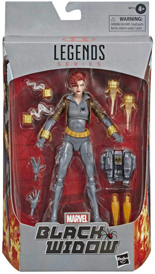 Marvel Legends Black Widow Exclusive Action Figure [Comic Grey Costume]
