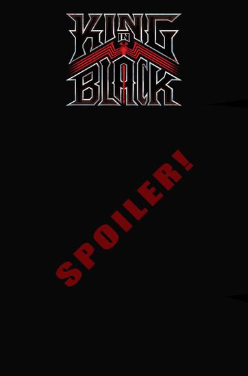 Marvel Comics King in Black #1 of 5 Comic Book [Clarke Spoiler Variant]
