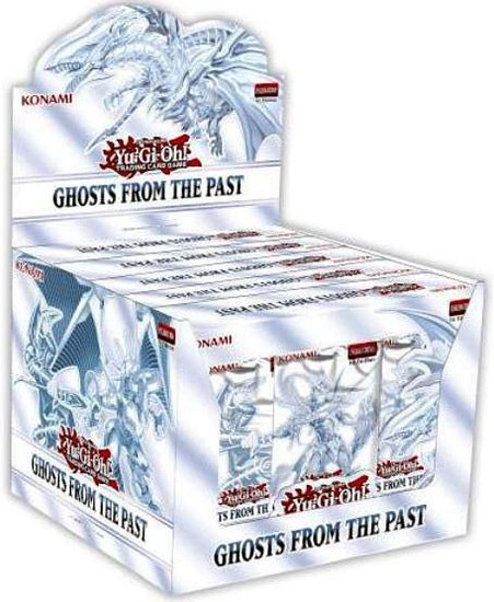 YuGiOh Trading Card Game Ghosts From The Past DISPLAY Box [5 MINI Boxes (15 Booster Packs)]