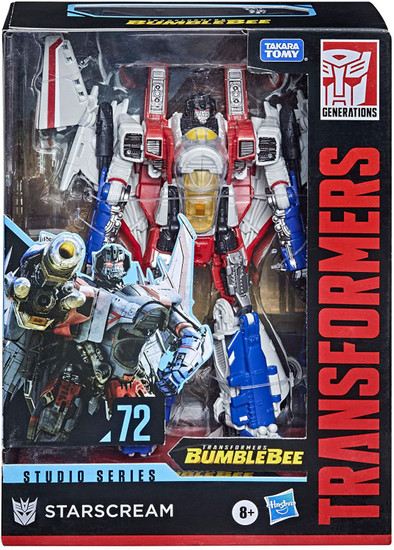 Transformers Generations Studio Series Starscream Voyager Action Figure #72