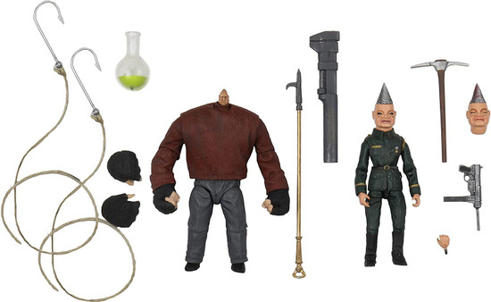 NECA Puppet Master Ultimate Pinhead & Tunneler Action Figure 2-Pack (Pre-Order ships March)